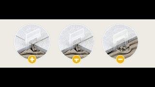 Выравнивающая система для укладки плитки DLS(Обзор выравнивающей системы и опыт её применения на объекте., 2015-07-11T07:03:07.000Z)