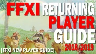 Getting Started In FFXI: Returning and New Player Guide [Top 5 First things!]