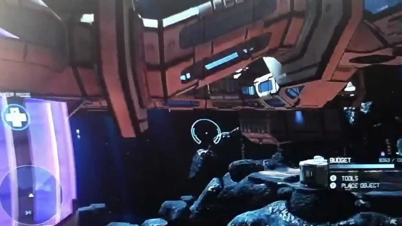 Halo 4 event horizon custom space ship forge map youtube for 11547 sunshine terrace
