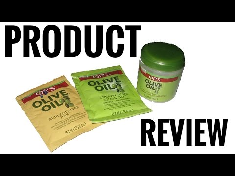 Review: ORS Olive Oil Hair Products on Type 4C Hair