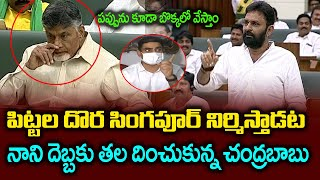 Kodali Nani Fires On Chandrababu In Assembly | Kodali nani Fire Speech | Andhra Politics