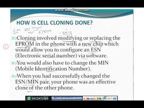MOBILE PHONE CLONING TRICKS - YouTube