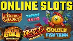 ONLINE SLOTS SESSION - Slots include - Aztec Gold Megaways, Dragon Match Megaways + more