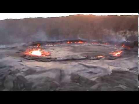 Travel Afar Danakil Depression  Volcano Ertale Ethiopia