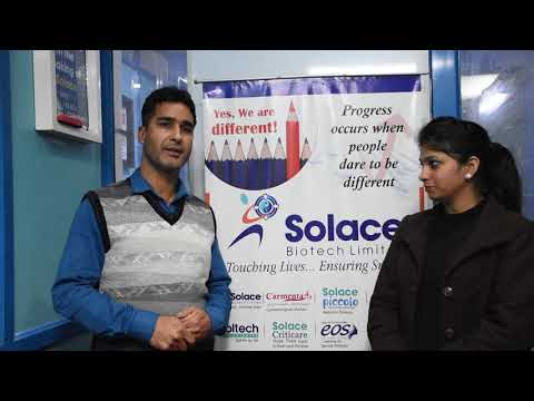 PCD Pharma Business Review of Solace Biotech Limited | Mr.Mohammad Shafi | Jammu & Kashmir