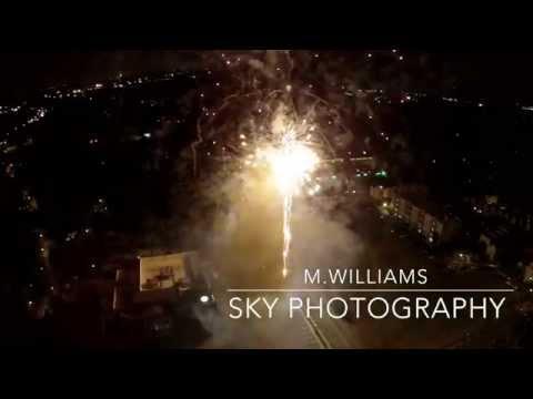 Duluth Georgia-Fireworks Aerial Film July 3rd, 2015