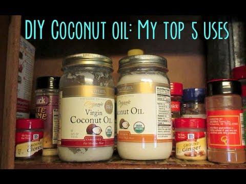 DIY Coconut Oil- My top 5 ways to use Coconut Oil