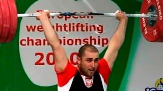 2010 European Weightlifting Championships, Men 94 kg \ Тяжелая Атлетика. Чемпионат Европы