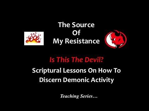 "Pastor Michael Martin - "" Is This The Devil""  - PT 3"