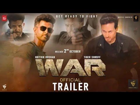 War Movie - Official Trailer | Hrithik Roshan | Tiger Shroff | Vaani Kapoor  | Releasing 2nd oct 2019