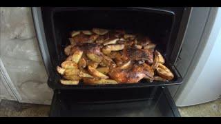 =Хочу Пожрать= Курица с картошкой по деревенски в духовке