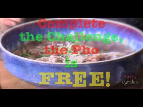 Pho Garden Pho Challenge Youtube