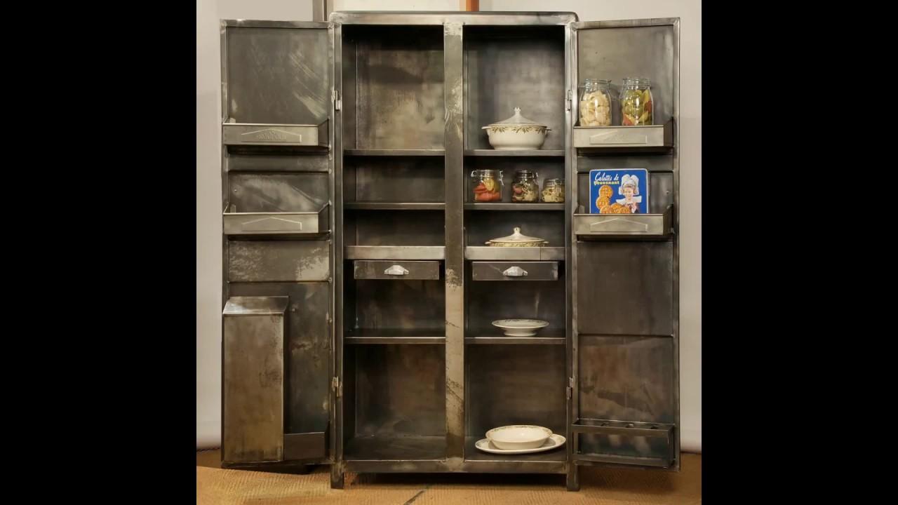meuble cuisine ann e 50 youtube. Black Bedroom Furniture Sets. Home Design Ideas