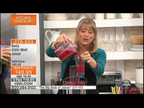 Kelly Diedring Harris presents the Bella Juicer on HSN; 2.22.14