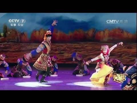 Goodbye My Love for joining the People's Liberation Army (PLA) - Plateau Tajik Dance of China.