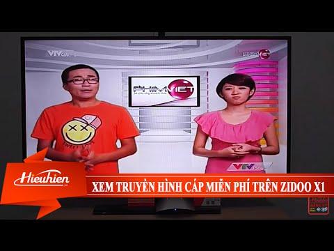 [Hieuhien.vn] Xem truyền hình cáp miễn phí trên Zidoo X1