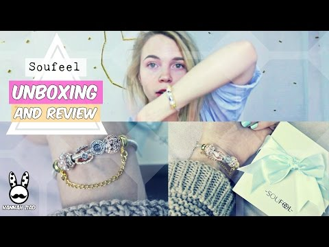 Soufeel Charm Bracelet UNBOXING AND REVIEW✔