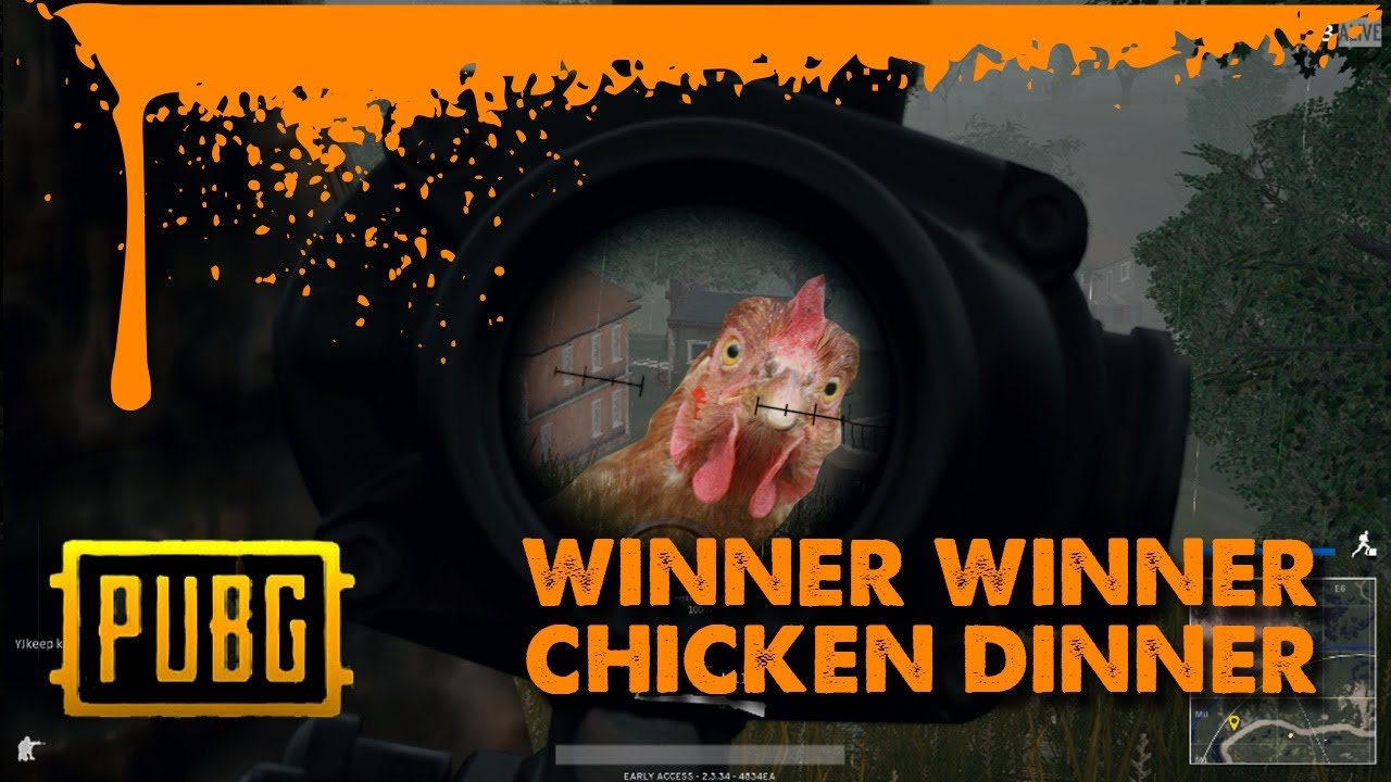 PUBG Winner Winner Chicken Dinner - YouTube