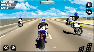 Police Moto Bike Stunt Racing Game - Impossible Tracks Games