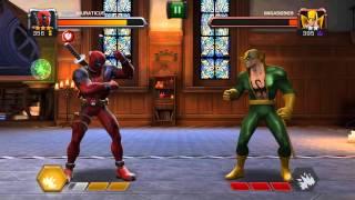 Marvel şampiyonlar turnuvası... deadpool Son vuruş