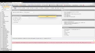 How to create database in php myadmin?