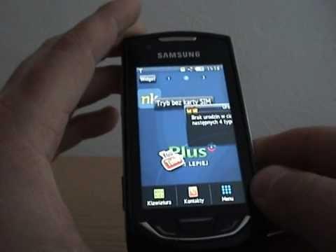 [1/4] Samsung S5620 Monte - pierwsze spojrzenie