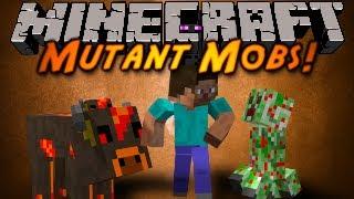 Minecraft Mod Showcase : MUTANT MOBS!