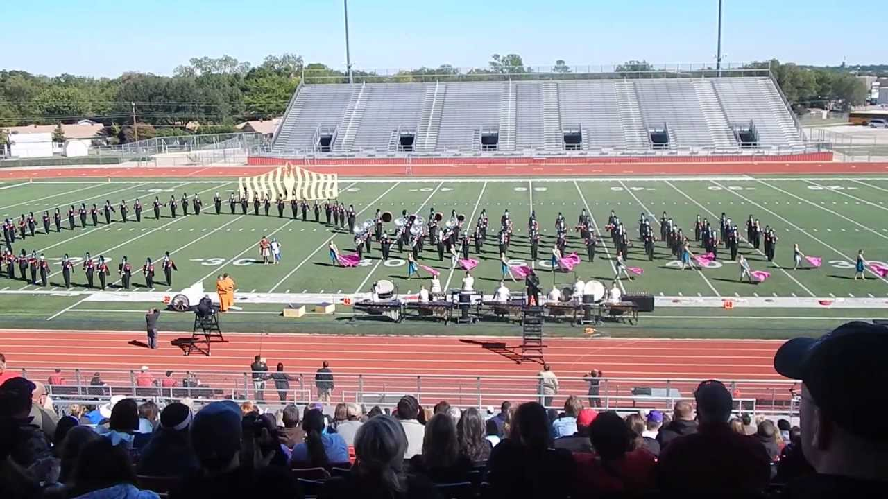 Burleson High School Marching Band UIL 2013 - YouTube