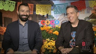 Lee Unkrich & Adrian Molin Interview - Coco