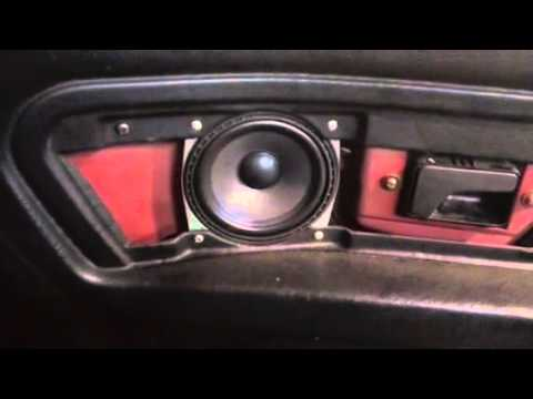 Bmw E30 Convertible Rear Speaker And Cards Removal Youtube