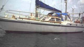 BRUCE ROBERTS STEEL SAILING YACHT 44