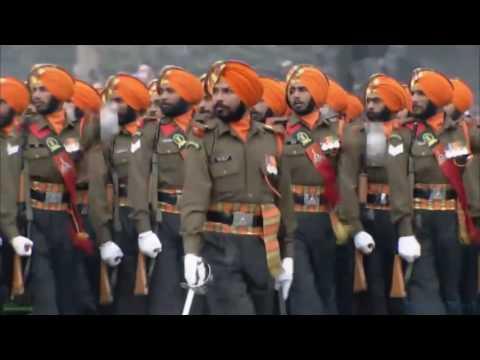 Sangarnya Parade Militer India - 68th Republic Day