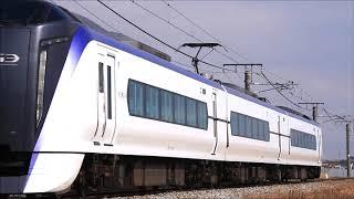 E353系S201編成篠ノ井線臨時回送列車
