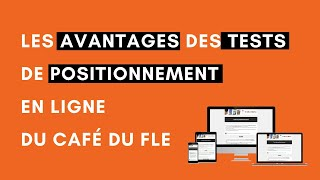 Tests de positionnement en ligne du Café du FLE