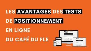 Tests de positionnement en ligne du Café du FLE