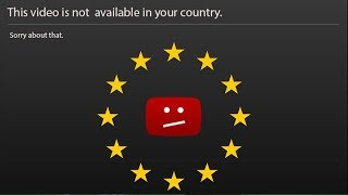 This video is not available in your country due to Article 13