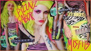 PIZZAZZ from Jem & The Holograms Full Costume + Makeup Tutorial! ASHTOBERFEST IV