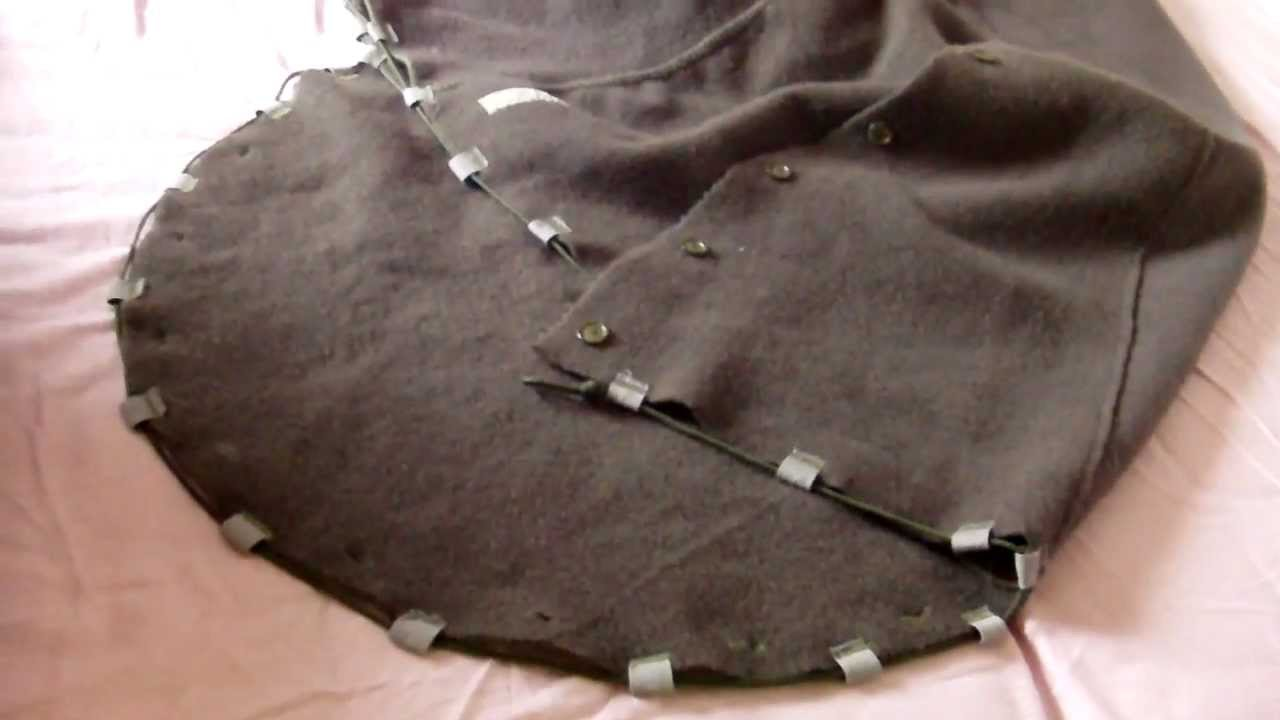 Wool Blanket Sleeping Bag part 3