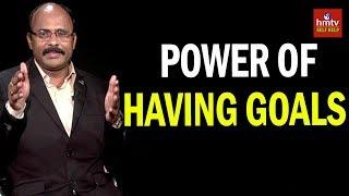 The Power Of Having Goals | Srinivas Reddy | Ask Talks