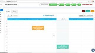 Как работать с расписанием в checkCRM (онлайн расписание для учебного центра)