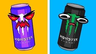 Monster Energy Drink Werbung vs Realität