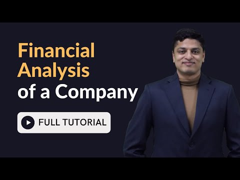 How to do Financial Analysis of a Company in Excel - Full Tutorial for Beginners from Scratch
