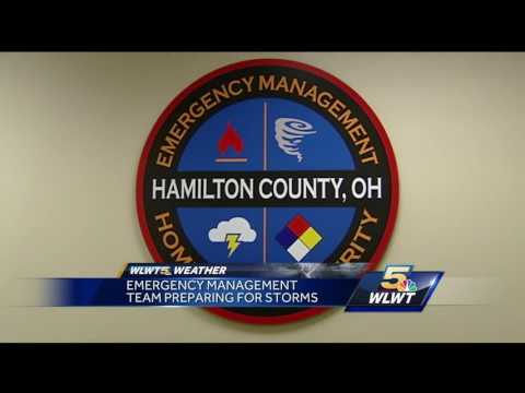 Severe weather potential activates Hamilton County's 'Warning Room'