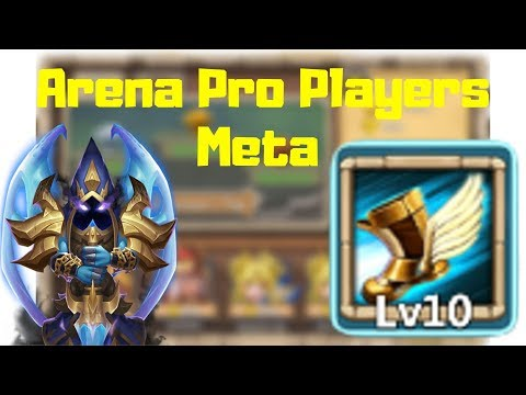 Arena | Top Players Setup | Heroes | Talents | Insignia | Pets | Castle Clash