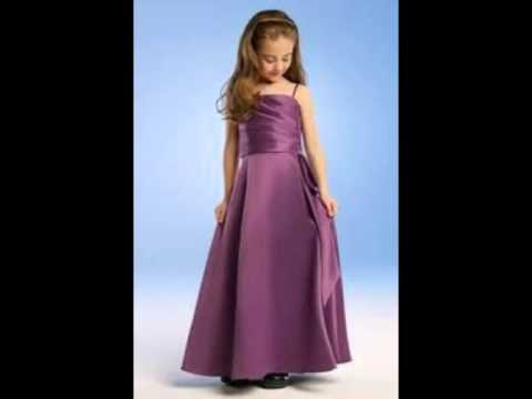 c1e802ed1 اروع تشكيله فساتين اطفال  فساتين سهره اطفال - YouTube