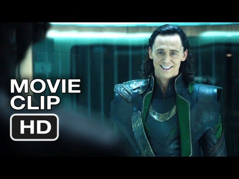 The Avengers Movie CLIP #4 (2012) - Loki - Marvel Movie