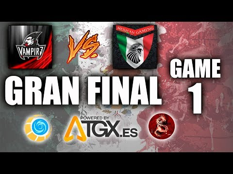 TORNEO DE MEXICO EN TGX - VAMPIR3 VS MEXICAN GAMING - FINAL