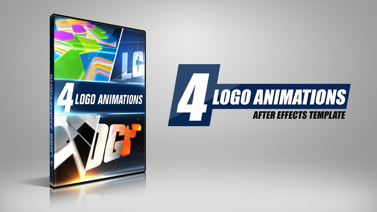 4 Logo | After Effects Templates | www.BlueFx.net | After Effects ...