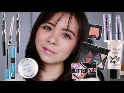 I Tried Affordable Catrice Makeup! \\ JQLeeJQ