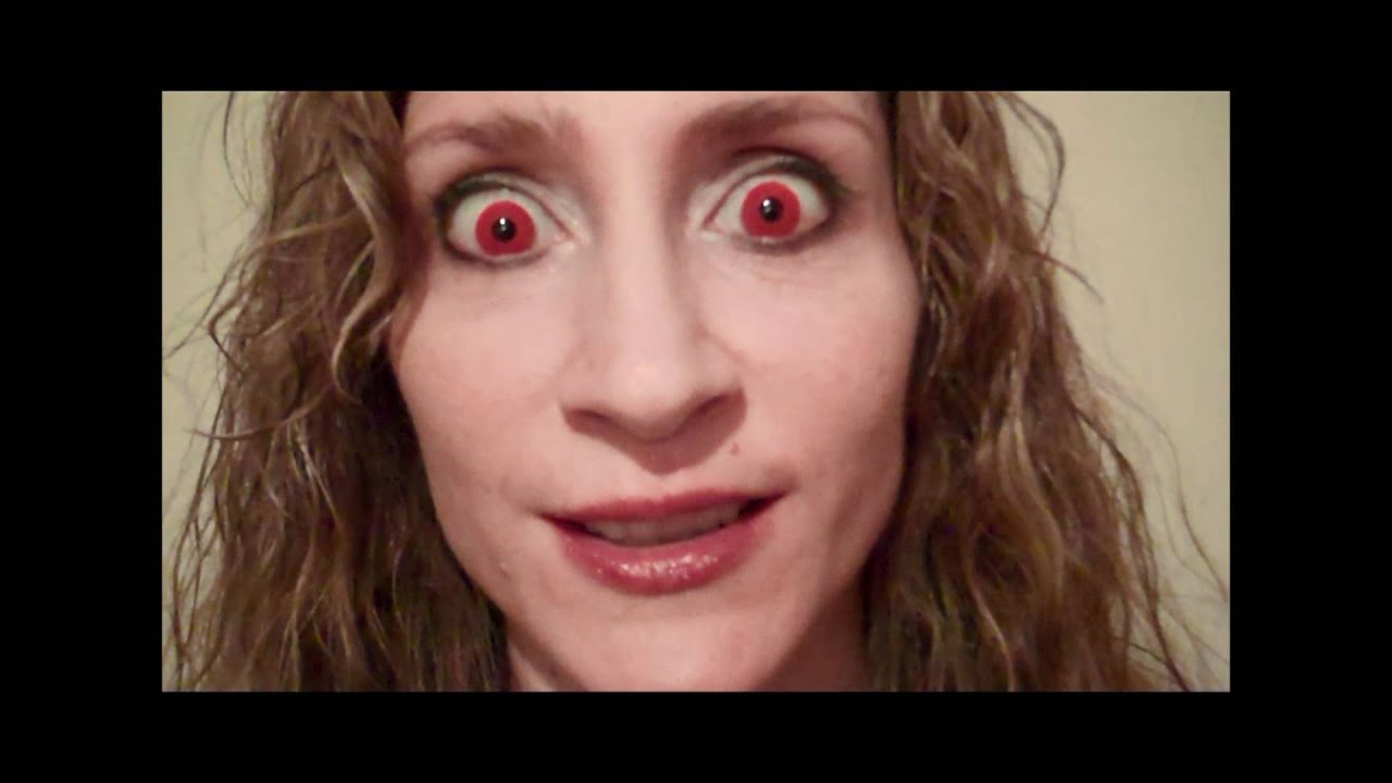 Red Halloween Contact Lenses